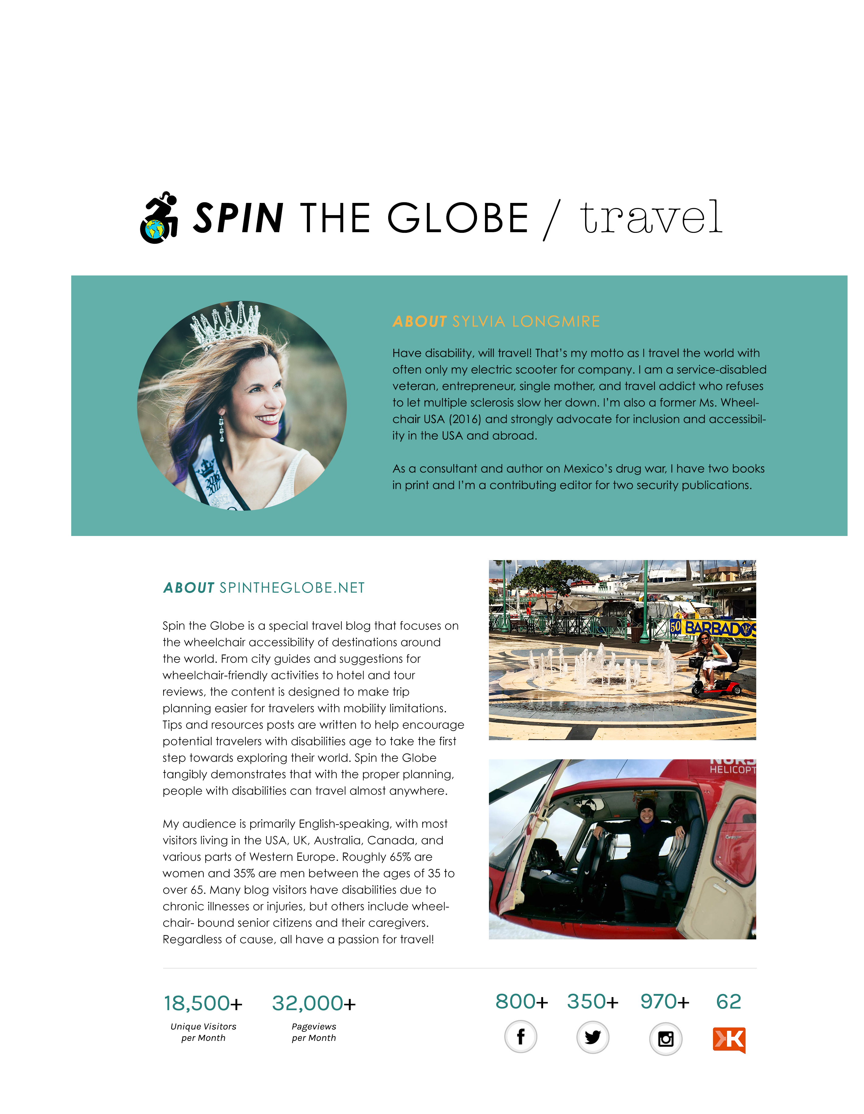 sylvia longmire media press kit page 1