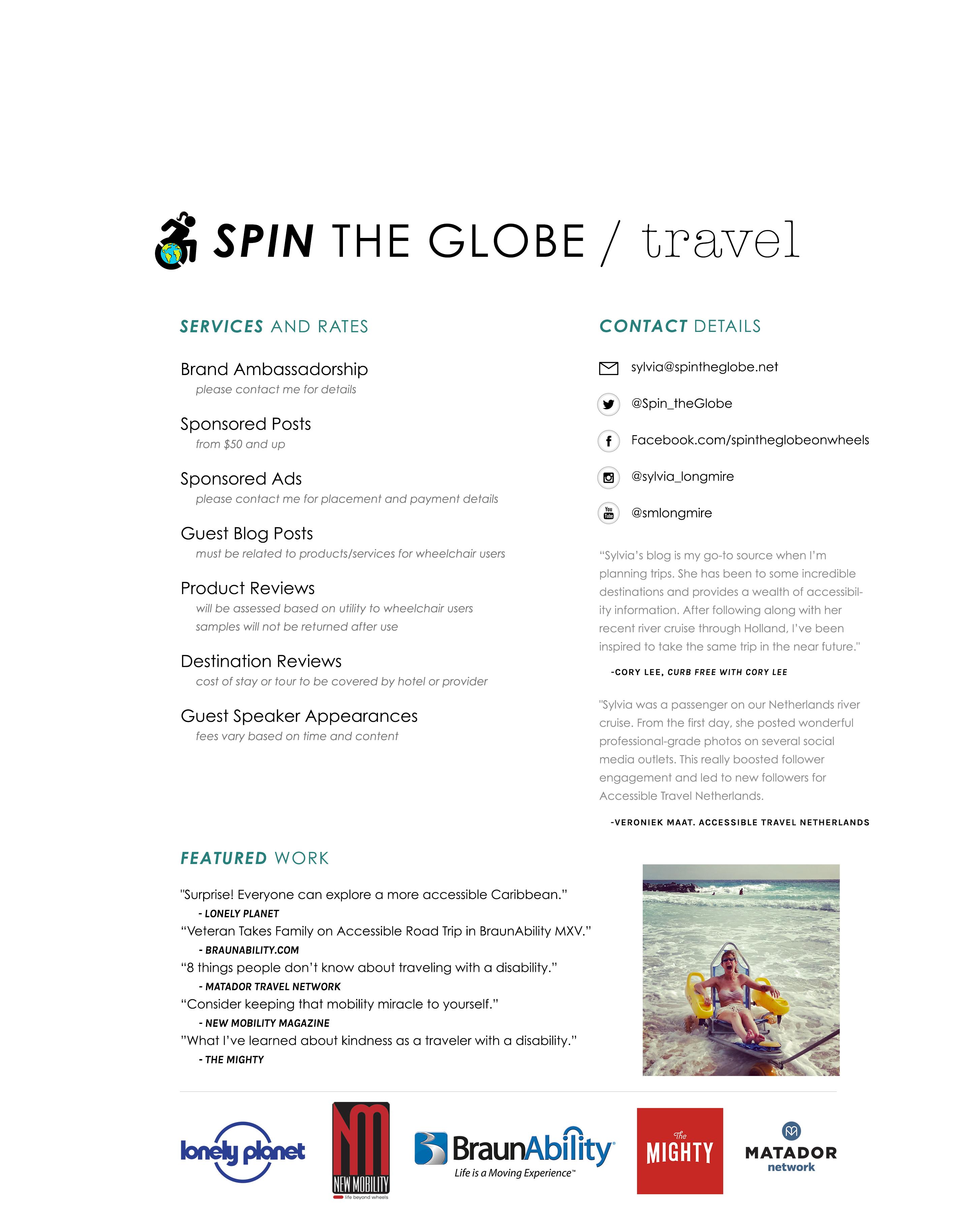 sylvia longmire media press kit page 2