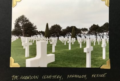 american cemetery world war II normandy france