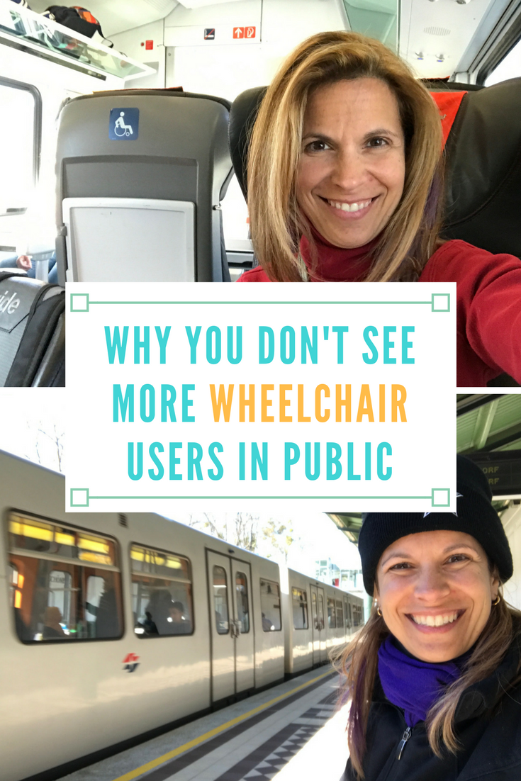 why you don't see more wheelchair users in public